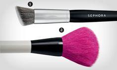 Lição de beleza: escolha o pincel certo para os efeitos desejados - Maquiagem - Beleza - MdeMulher - Editora Abril
