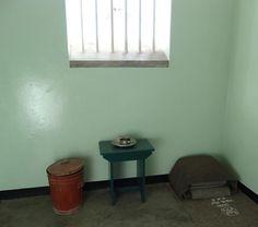 Nelson Mandela's prison