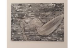 Acrylic on canvas erotic painting 50 cm x 70 cm Soft Lips, Erotic, Tapestry, Paintings, My Favorite Things, Canvas, Instagram, Home Decor, Art