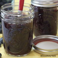 Gooseberry Patch Recipes: Luscious Blueberry Syrup - so easy to make, no canning involved! Great served warm over pancakes, waffles or ice cream!