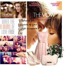 Inspired by The Vow's wedding scene, created by howgirlsthink on Polyvore