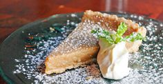 Maple-Syrup Pie at Left Bank, NYC