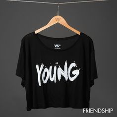 YOUNG CROPPED TOP WOMEN: 19,90€