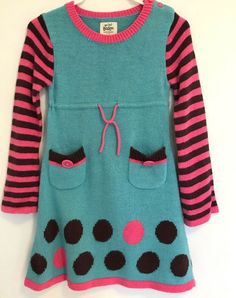Girls FUNKY DIVA pink vest top//tunic /& striped leggings outfit 2-3 3-4 5-6 years