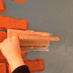 Como fazer parede de tijolinho - Homens da Casa