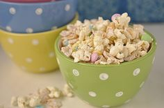 Bunco White Chocolate and Frito Popcorn frito popcorn, popcorn treat, chocolates, food, chocol popcorn, white chocolate, candy desserts, snack, easter treats