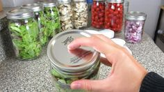 Cool Mason Jar Hack Keeps Produce Fresh For A Week   DIY Joy Projects and Crafts Ideas
