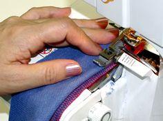 Tuto : surjeteuse ロックミシンの基本操作をマスターしよう! その8 「裾まつり」