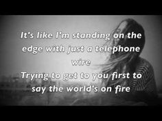 Just love singing the harmony with this one. Gorgeous. Sara Bareilles - Islands Lyrics (HD)