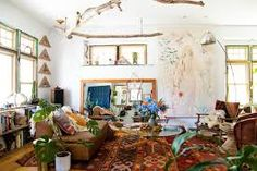 Image result for bohemian kilim living room