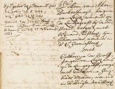 Huwelijksakte Willem van Aken en Catharina de Wolff (1721).jpg (800×621)