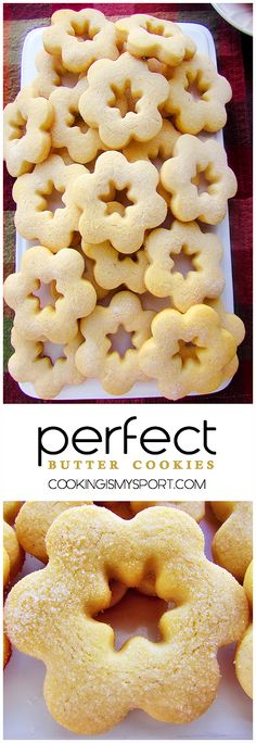 Perfect Butter Cookies | Cooking Is My Sport
