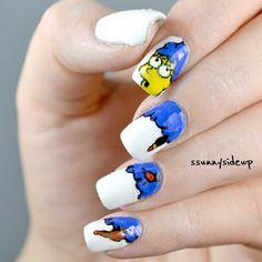 ssunnysideup: Marge Simpson nails