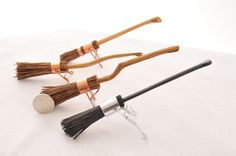 12th scale Harry Potter brooms