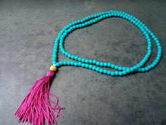 COLAR LONGO CONTAS AZUL TURQUEZA - REF:010215 — Bali & Co.Shop