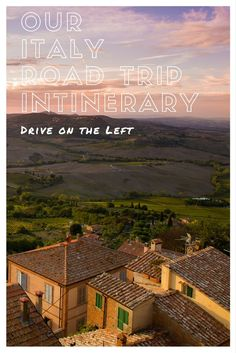 Our Italy Road Trip Itinerary – Drive on the Left - Includes Piedmont, Cinque Terre, Bari, Modena, San Marino