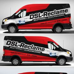 Ford transit wrap for DSL-Reclame