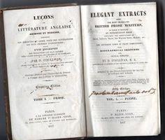 Leçons de Littérature Anglaise (Ancienne et Moderne) | VITALIVROS