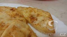 Jednoduchý recept na chutný pečený celer se sýrem.