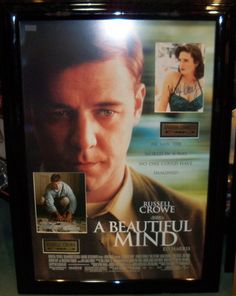 Antiquities LV - A Beautiful MInd Signed Photos By 2, $795.00 (http://www.antiquitieslv.com/a-beautiful-mind-signed-photos-by-2/)