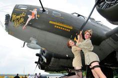 Aircraft Girls — Best in class Girls of Aviation Military Photos, Military Art, Event Logistics, Air Plain, Memphis Belle, Nose Art, Retro Pin Up, Air Show, Pin Up Girls