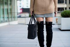 stuart weitzman lowland boots | thefoxandshe.com