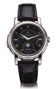 Patek Philippe - Grand Complications, ref.5016BR - Manual-winding, cal.R TO 27 PS QR, 3Hz, 48hr p.r., perpetual calendar, moon phases, minute repeater - 39.5mm, platinum case, black dial ~680k