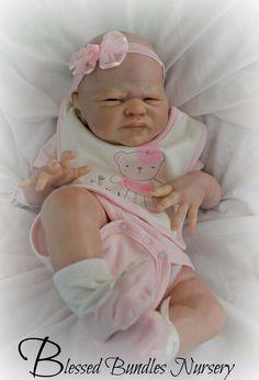 Amazing Realism Reborn Newborn Peeky Baby Girl Boy SOLE Miracle Laura Lee Eagles