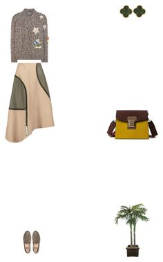 """""""Grace"""" by zoechengrace on Polyvore featuring TIBI, Dolce&Gabbana, FitFlop, Van Cleef & Arpels and NDI"""