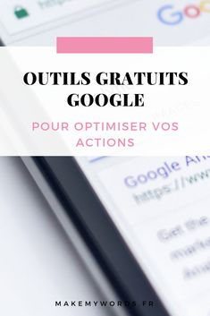 Outils google : découvrez les outils gratuits à utiliser pour optimiser votre site web et mieux connaître votre audience. Business Entrepreneur, Business Tips, Ecommerce Seo, Web Seo, Seo Keywords, On Page Seo, Le Web, Seo Marketing, Seo Tips