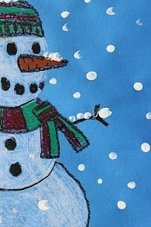 Cute Frosty the snowman canvas paint idea for wall decor. Canvas painting. Wall art. Merry Christmas. Winter. Red, green, blue and white. Snowflakes. Personalize. Snowman. Polka dots