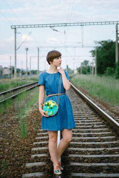 Sheinside Dress, Lilou in Berlin bag - Kittenhood