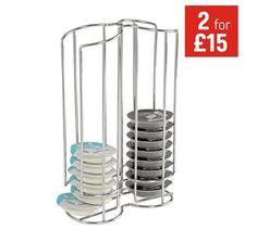 Buy HOME 32 Tassimo Coffee Pod Holder at Argos.co.uk - Your Online Shop for Kitchen organisers, Kitchen storage, Cooking, dining and kitchen equipment, Home and garden.