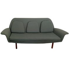 Sixties Danish Modern Sofa | From a unique collection of antique and modern sofas at http://www.1stdibs.com/furniture/seating/sofas/