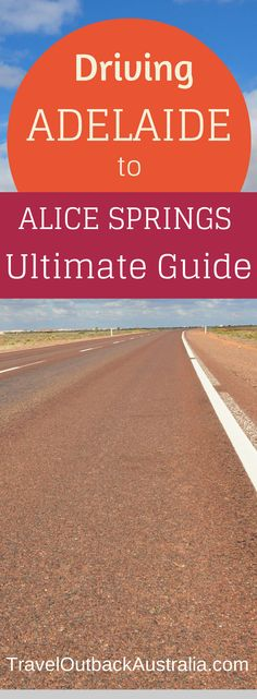 The ultimate #outback roadtrip. Everything you need to know: http://traveloutbackaustralia.com/driving-from-adelaide-to-alice-springs.html/