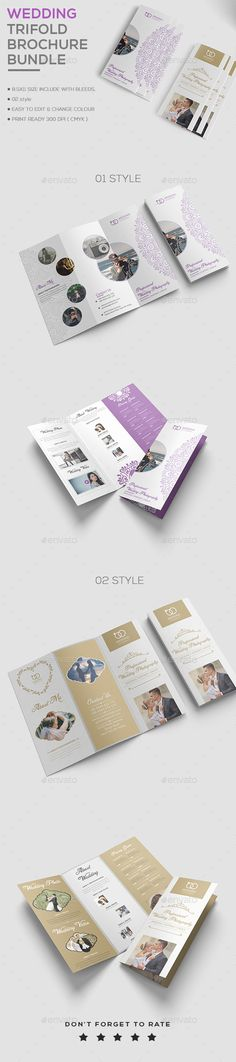 Living Real Estate Brochure Template PSD PRINT Designs - wedding brochure template