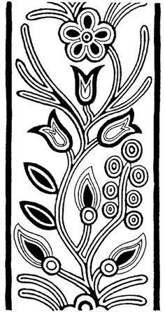 Ojibway Indian design - great border design