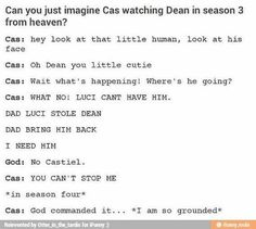 #Destiel #Supernatural