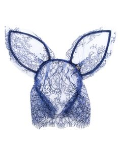 MAISON MICHEL | Veiled Lace Rabbit-ear Headband | Browns fashion & designer clothes & clothing