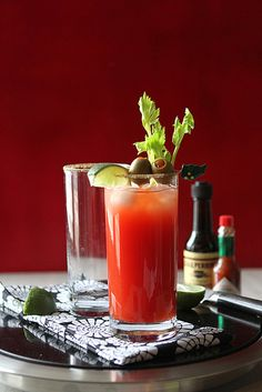 The Caesar Cocktail, aka the Canadian Bloody Mary Recipe {via Cookin' Canuck}