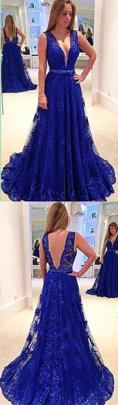 Royal Blue Backless Prom Dress,Long Prom Dresses,Charming Prom Dresses,Evening Dress, Prom Gowns, Formal Women Dress,prom dress
