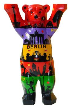 Buddy Bear - Berliner Skyline theme. From Nokia for our five year anniversary.