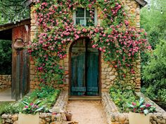 Rose Garden Why You Must Know About the Rose That Survived Katrina - Southern . - A rose that survived two weeks underwater after Hurricane Katrina. Brick Cottage, Cottage Door, Shed Design, Garden Design, Rose Trellis, Build Your Own Shed, Rose Vines, Old Rose, Growing Roses