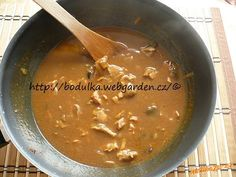 Vepřové na houbách Ethnic Recipes, Food, Meals