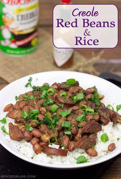 Creole Red Beans & Rice   Spicedblog.com