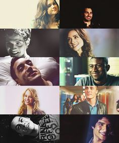 Teen Wolf this hurts. Look how happy they look!