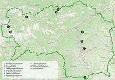 Abenteuer Klamm in der Steiermark Diagram, Map, Outdoor, Camping, Road Trip Destinations, Adventure, Summer, Hiking, Vacation