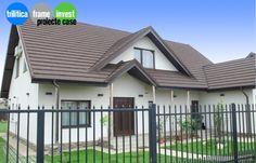 Proiect Casă cu Parter și Mansardă pentru 2 familii Case, Deck, Outdoor Decor, Home Decor, Decoration Home, Room Decor, Front Porches, Home Interior Design, Decks