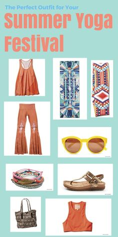 Attending a yoga festival this summer? YJ found the perfect outfit for you.