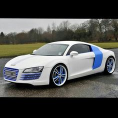 Premiership footballer Stephen Ireland's Audi R8